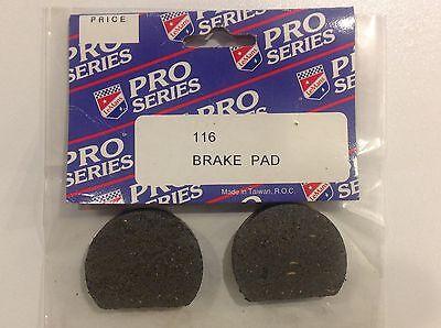 NOS Lemans Pro Series Brake Pads Pucks 116