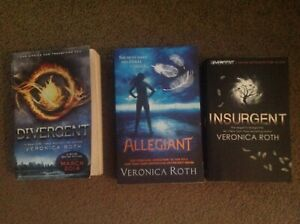 Books - teenage - Divergent series, Veronica Roth