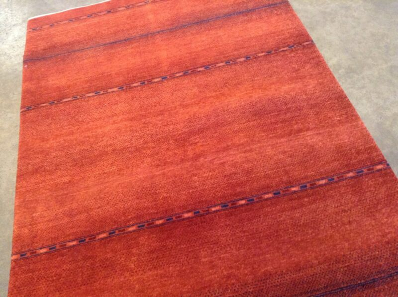 4 X 6 Modern Gabeh Persian Oriental Area Rug Hand Knotted New Wool Carpet