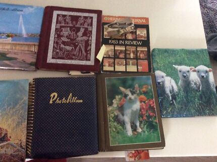 FOUND PHOTO ALBUMS  Edgewater Joondalup Area Preview