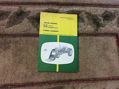 John Deere 35 Loader Omc12533 Operators Manual Book 2010301043042040