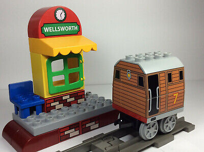 LEGO Duplo Thomas The Train & Friends Toby Wellsworth Station/track set/lot rare