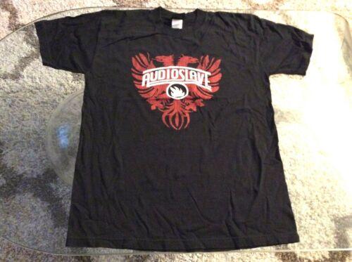 Audioslave Phoenix Back To Back Black Shirt Adult Large