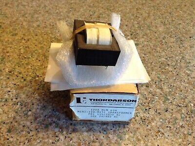 Thordarson Mim 634 Mini-iso-mitetransformer 12va 115203v Ac