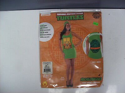 TEENAGE MUTANT NINJA TURTLES MICHELANGELO WOMEN HALLOWEEN COSTUME MEDIUM
