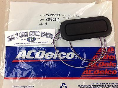 Draht-deckel (Cadillac Cts Schwarz Gummi hinter Deck Deckel Release Schalter Knopf mit / Draht)