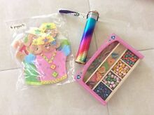 Hand made puppets, kaleidoscope and bead set Hornsby Hornsby Area Preview