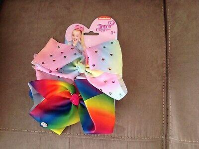 Jojo bows nickelodeon pastel  and rainbow brand new