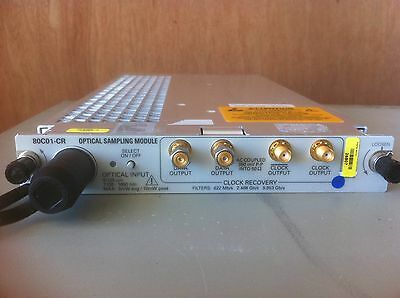 Tektronix - 80c01-cr 20ghz Optical With Option