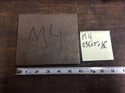 M4 Tool Steel Flat 12 X 5 X 5.75