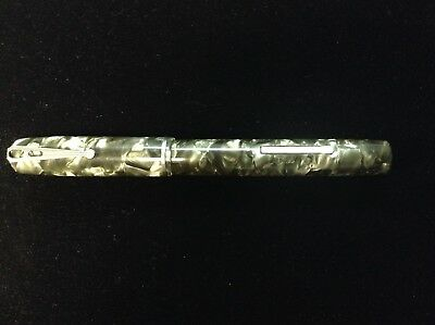Esterbrook $1.50 Fountain Pen - Hard to Find, Grey Marble, 2460 Dura-Crome Fine
