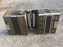 2x Hohner Pokerwork Button Accordians Taree Greater Taree Area Preview
