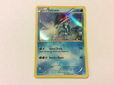 Holo Set 30//30 LP Pokemon Pikachu Libre SUICUNE Card XY Promo TRAINER KIT