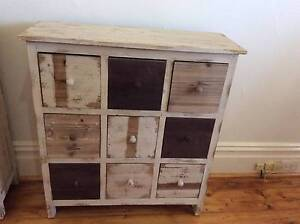 Antique Wooden Shabby Chic Bedside Table, 2 X,  $200 each. Thornbury Darebin Area Preview