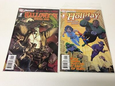 DC HOLIDAY / HALLOWEEN SPECIAL #1 SHOTS (DC/2010/SOLOMON GRUNDY/061710) SET OF 2](Special Halloween Shots)