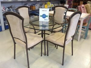 Lovely 4 Chair Dining Set