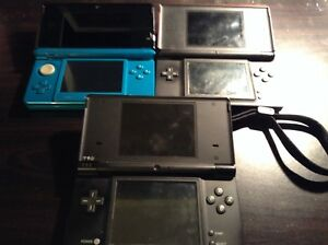 Selling 3ds and DSi with dslite with 10 games
