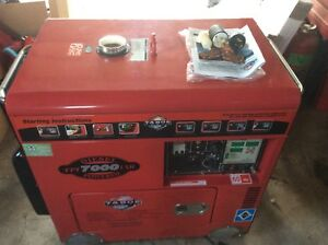 (NEW)Diesel generator Tahoe TPI 7000 (no shipping)