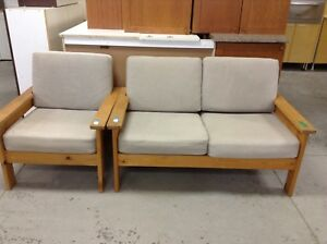 Love seat and armchair- HFHGTA Restore East York
