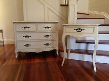 French Provincial tall boy and side table Concord Canada Bay Area Preview