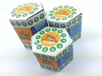 BEST TIGER BALM WHITE 21 ml muscle aches pain relief ointment massage - 3 pcs