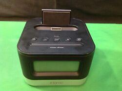 iHome IP10 Alarm Clock Speaker iPod/iPhone Dock