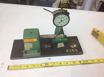 Federal Kb-410 Bench Gauge Roundness Tester With C8is Dial Indicator Tool F190