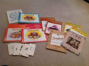 Music books and Music flash cards all for $20