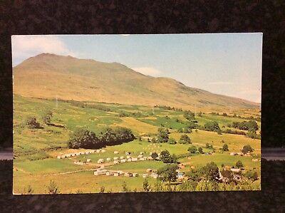 730. Loch Tay Caravan Site Postcard