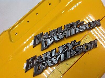 Genuine Harley Sportster Skull Willie G Fuel Gas Tank Set Emblems Badges