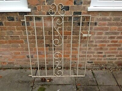 Pretty metal solid Garden Gate + Wall/Post mounting fixings
