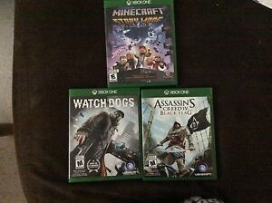 Three awesome Xbox one games.