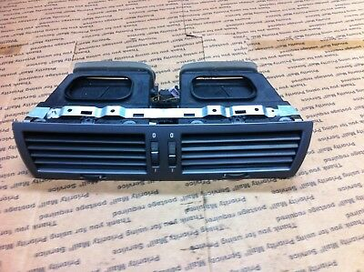 BMW GRAY FRONT CENTER DASH DUAL AIR VENT SPLITTER DUCTS OEM E65 E66 7 SERIES