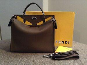Fendi Peekaboo Monster eyes Medium Bag Handbag Docklands Melbourne City Preview