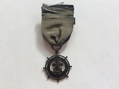 1930's 114th Sea Scout Type 1 Quartermaster Award from1st Chartered Ship Museum