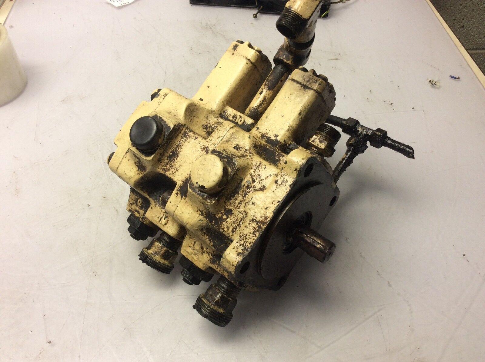 Nachi Variable Vane Hydraulic Pump, VDR-11B-1A2-1A2-22, Used, Warranty