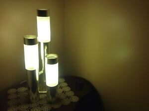 Set of 3 coffee table lamps