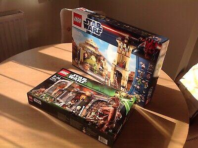 Star Wars Lego Jabbas Palace 9516,Rancor Pit 75005