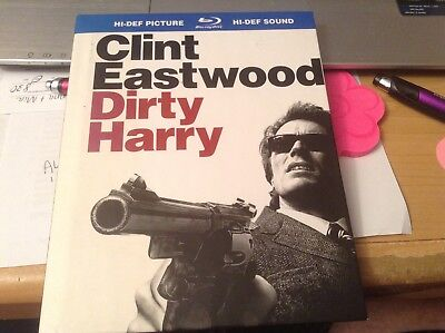 Dirty Harry (Blu-ray Disc, 2008) HI-DEF Picture HI-DEF sound like new