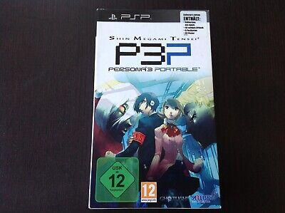 PSP Persona 3 Portable Collector's Edition, ULES - Persona 3 Portable