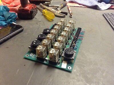 Milltronics Partner I Cnc Pc Relay Board Pc-rel-1b Used Warranty