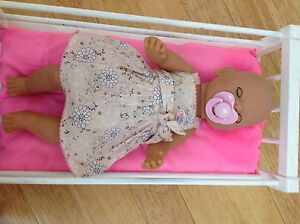 Baby born doll with cot Attadale Melville Area Preview