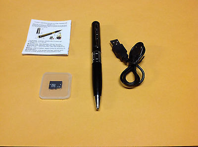 8GB Spy Cam Pen Secret Hidden Pinhole Surveillance Security Camera & Recorder