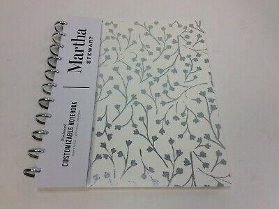 Martha Stewart Discbound Customizable Notebook Letter Size Cream Vine