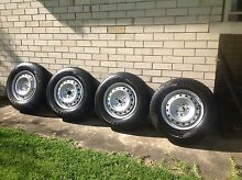 Nissan Navara set of 4 rims and tyres as new Bridgestone Duelers h/t Forestville Warringah Area Preview