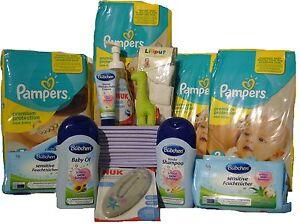 BABY-STARTER PAKET (SP15)Geschenke-Set/Erstlingsausstattung/Pampers Newborn