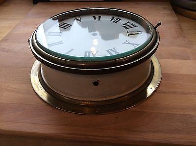 Brass Ships Clock Case