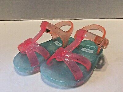 Toddler Girls Joe Boxer 11726 Sonora Embellished Thong Sandal Rainbow G70 New