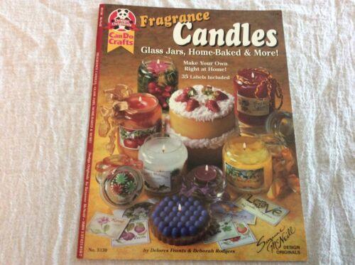 Design Originals Can Do Crafts Fragrance Candles Jars Leaflet 5130 Projects