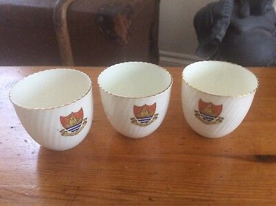 Dartmouth Cups ~ Marked W E Roberts